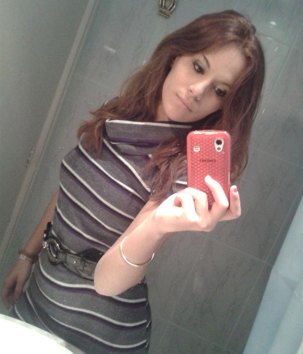 Es un must: Meri y su foto al espejo