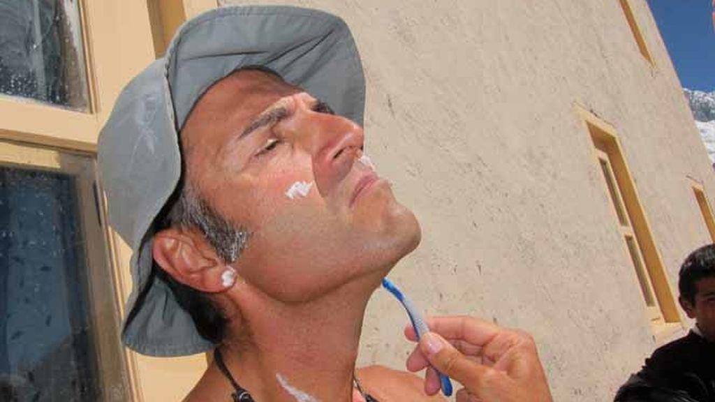 Rafa Lomana, el preparador físico