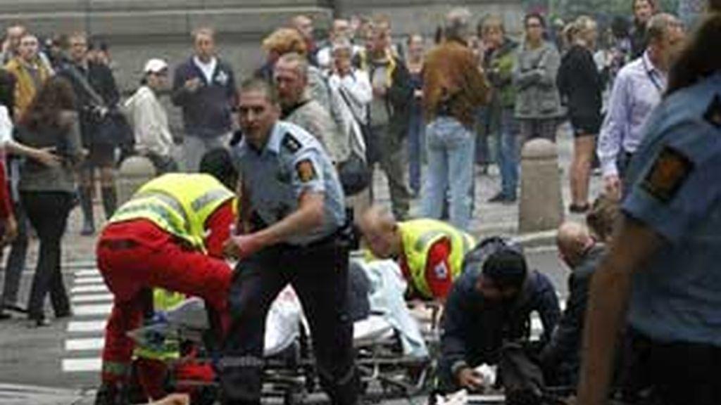 Imagen de los atentados de Noruega el pasado 22 de julio.