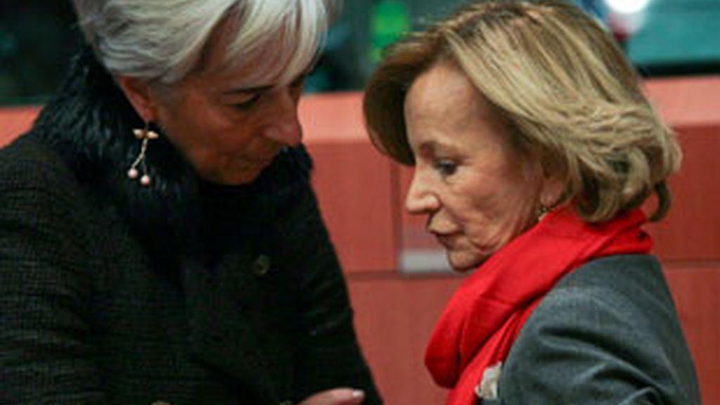 Salgado ha acudido a Bruselas para reunirse con sus homólogos europeos y discutir sobre el fonde de rescates tras el apoyo a Irlanda. FOTO: EFE