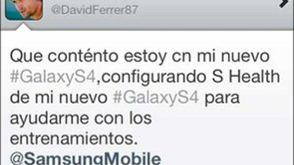 David Ferrer y su error al promocionar