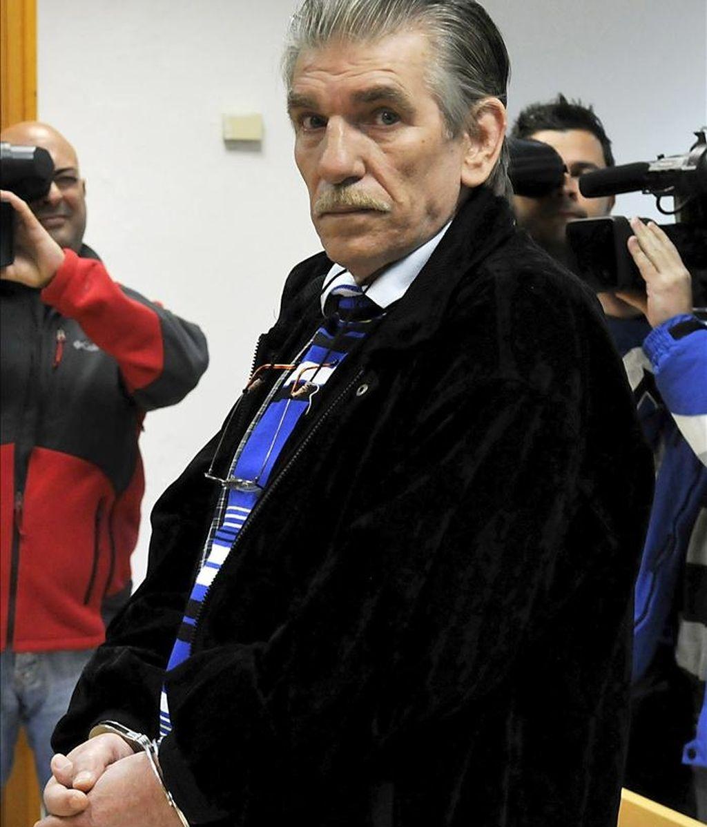 Francisco Miguel Montes Neiro, considerado el preso común que lleva más tiempo en prisión en España tras sumar desde 1976 una veintena de condenas. EFE/Archivo