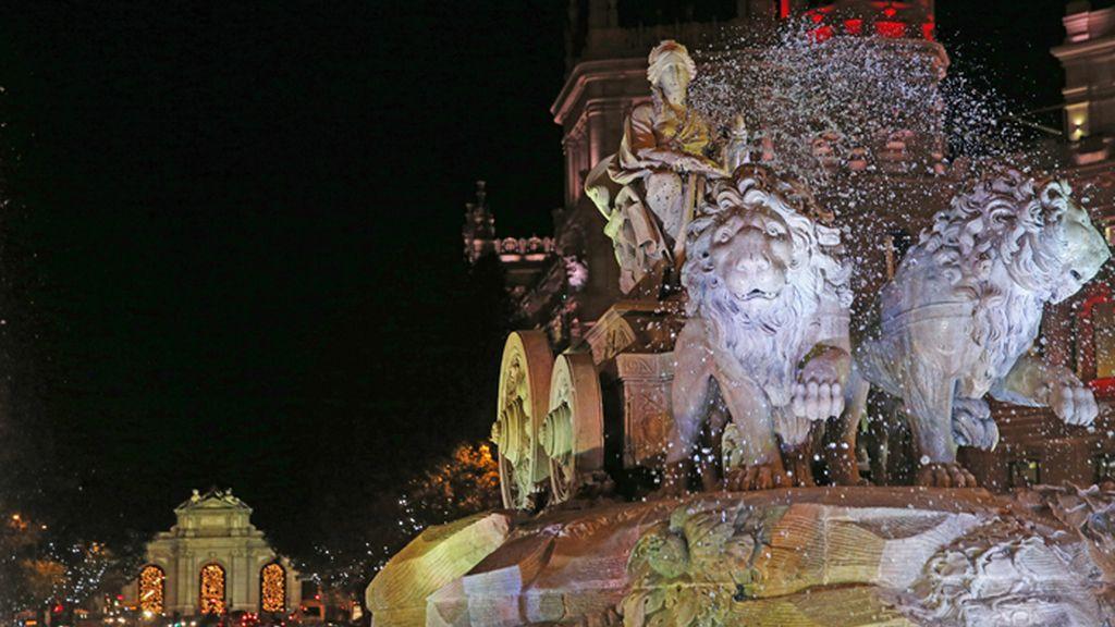 La tecnología LED ilumina la navidad Madrileña