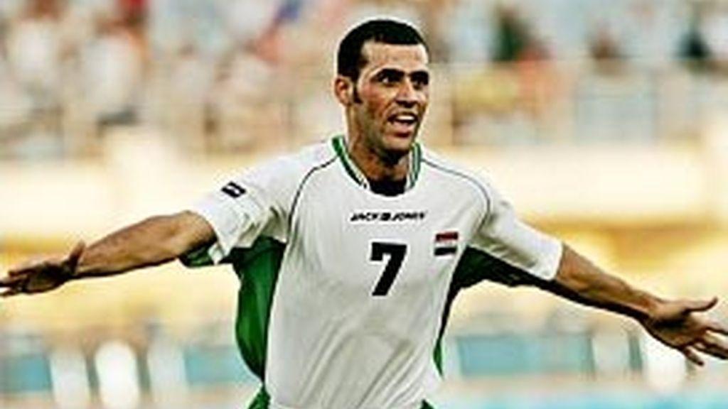 Emad Mohammed es el líder de la selección de Iraq. Foto: AP