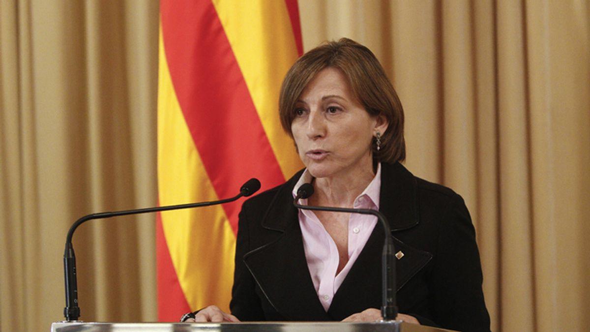 Forcadell propone formalmente a Mas como candidato a la investidura