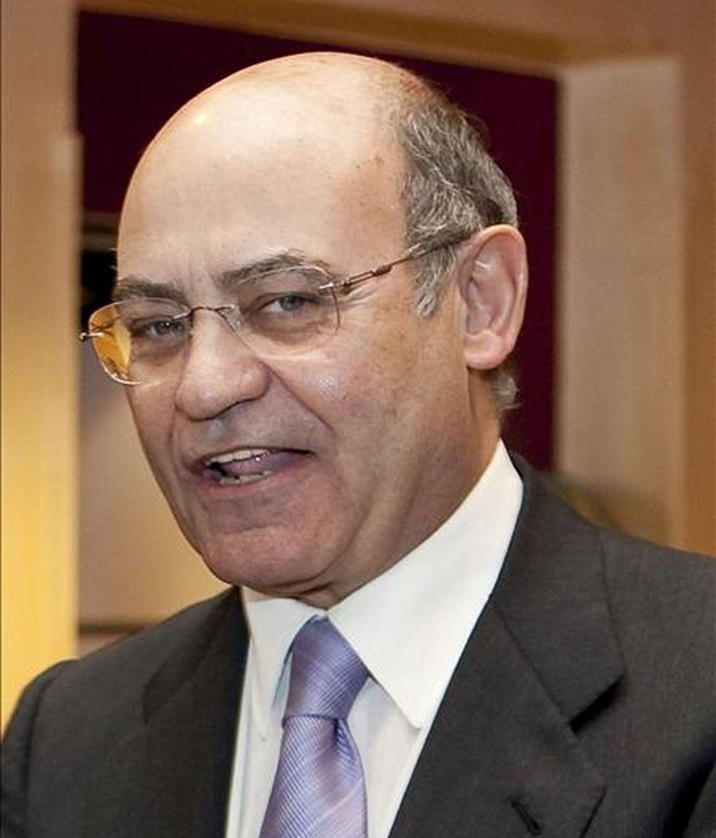 En la imagen, el presidente del grupo Marsans, Gerardo Díaz Ferrán, durante un acto. EFE/Archivo