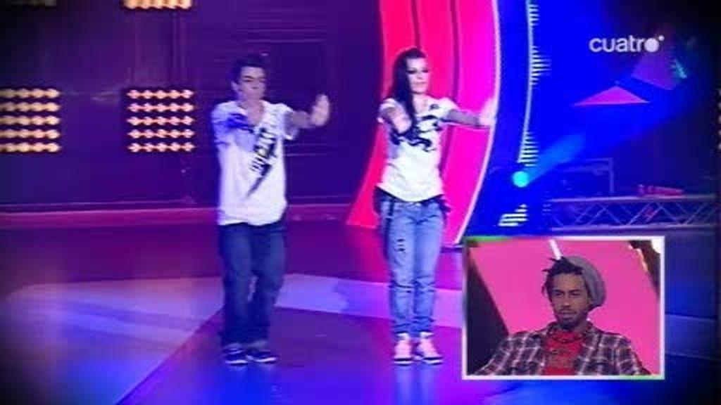 Aaron y Tanya...¡alucina!