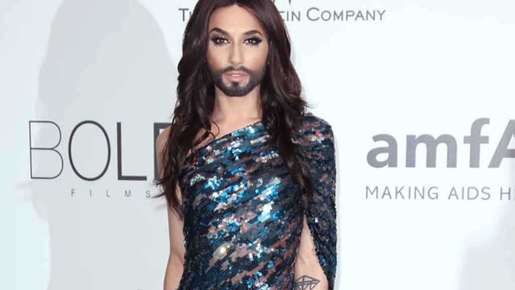 Conchita en Cannes