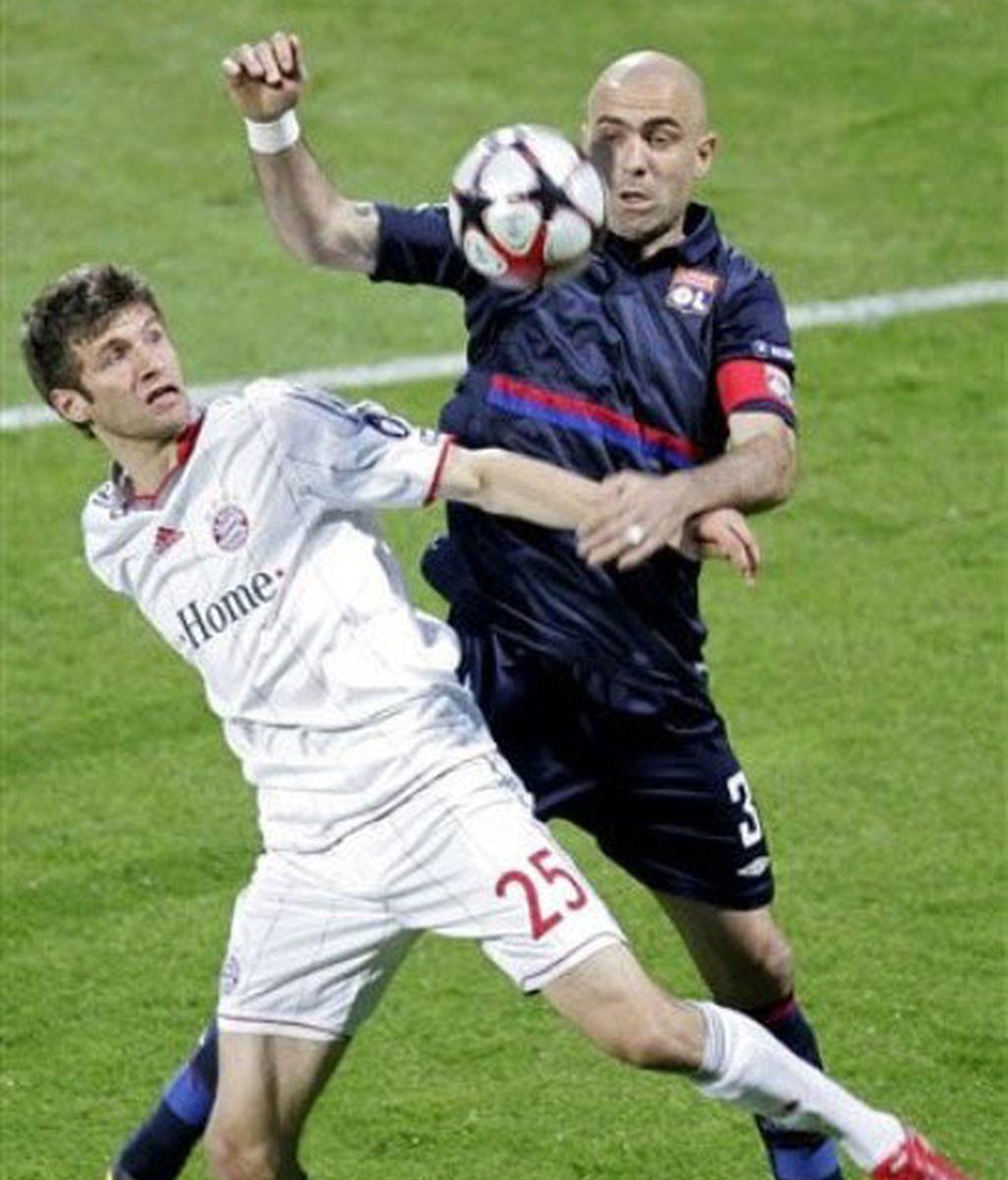 El Bayern de Múnich se adelanta en Lyon