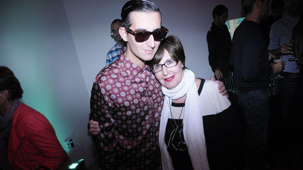Con una de nuestras actrices favoritas, Concha Velasco
