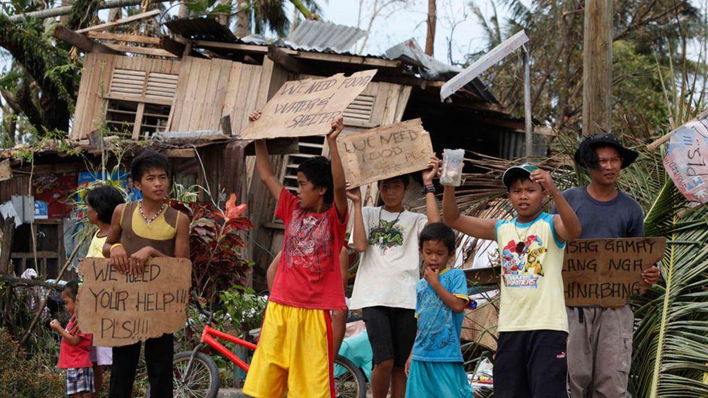 El tifón Haiyan deja unos 10 millones de damnificados