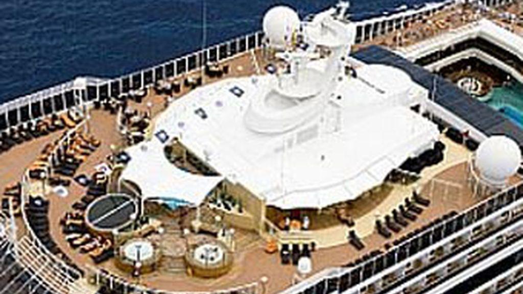 El crucero había partido de Barcelona y se encontraba haciendo escala en Génova. Foto: MSC Cruceros