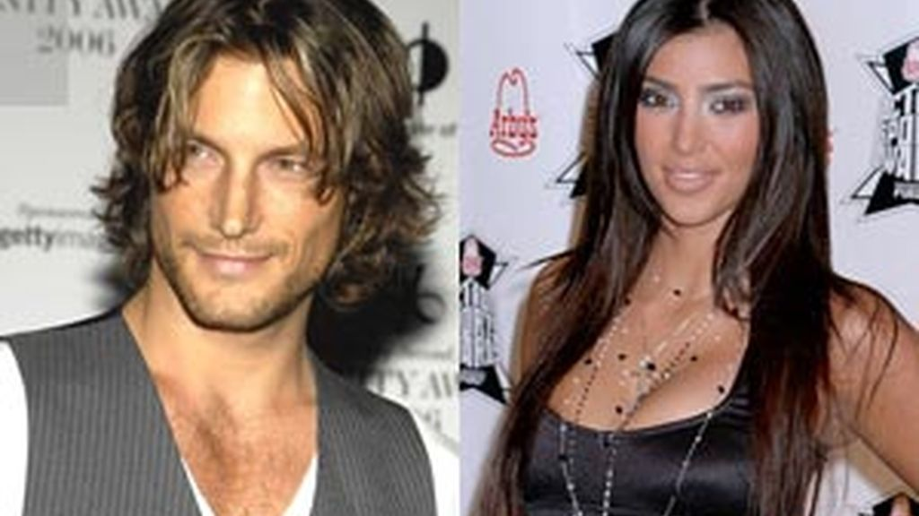 Gabriel Aubry y Kim Kardashian