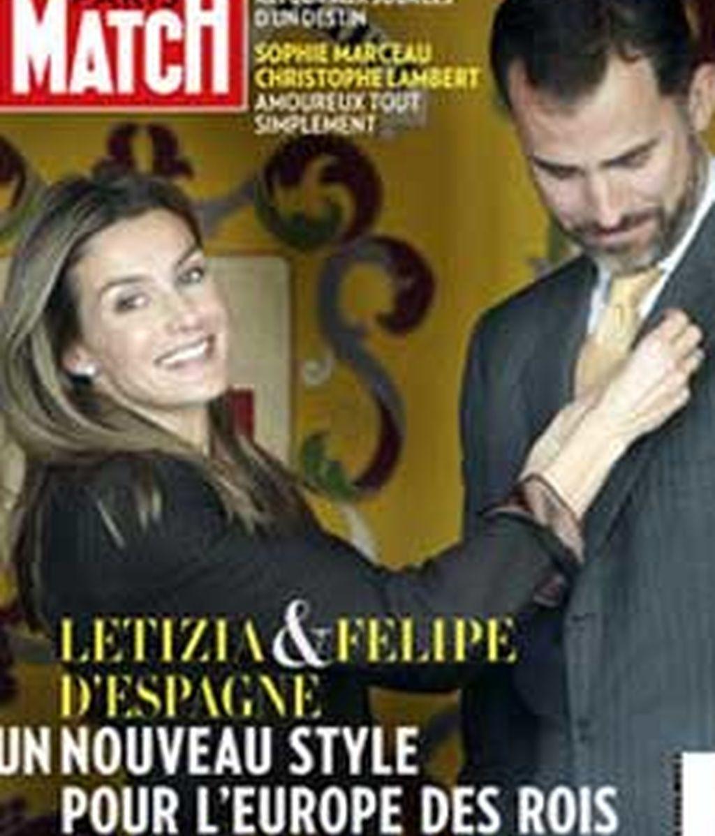 Portada de 'Paris Match'.
