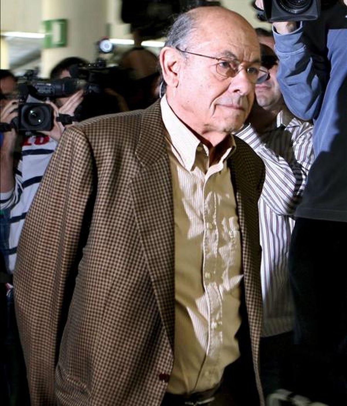 El ex presidente del Palau de la Música Catalana Felix Millet. EFE/Archivo