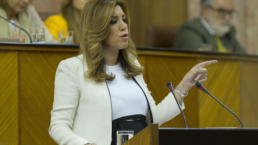 Susana Díaz  se somete al pleno de investidura
