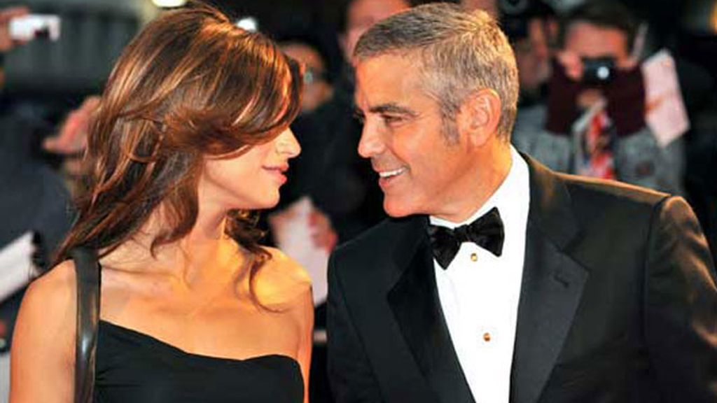 George Clooney y Elisabetta Canalis, en una imagen de archivo.