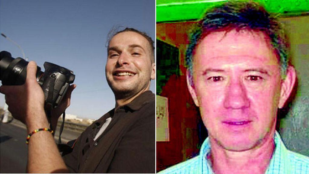 El fotoperiodista norteamericano Luke Somers y el sudafricano Pierre Korkie, ambos asesinados por Al Qaeda