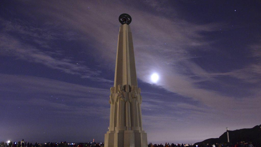 Eclipse en Los Ángeles