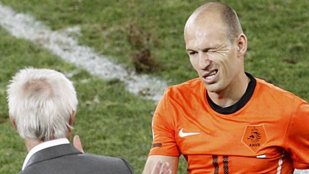 Robben guia de una Holanda que ya está en cuartos