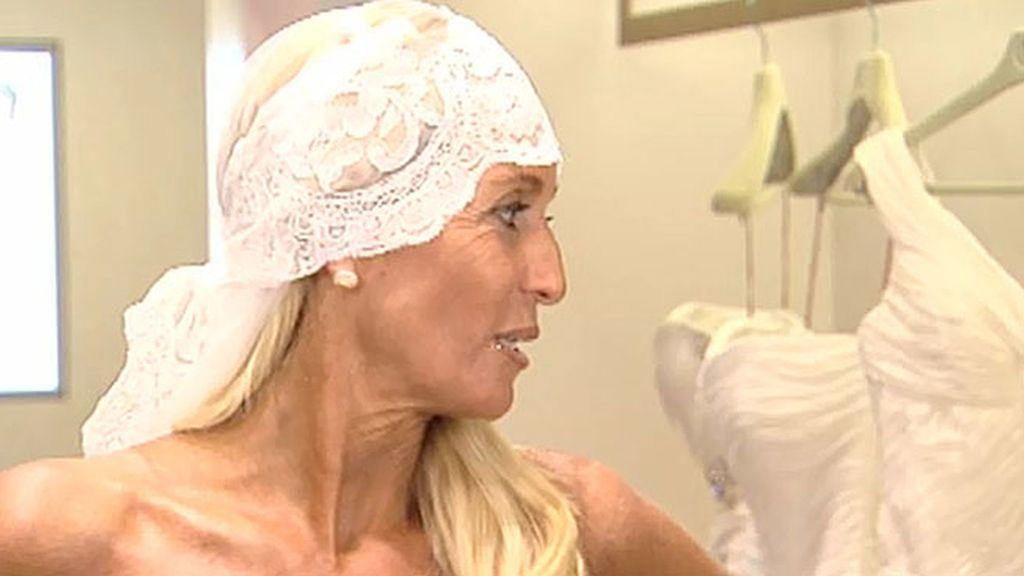 Susana busca vestido para su boda pero su hija no quiere participar en el programa