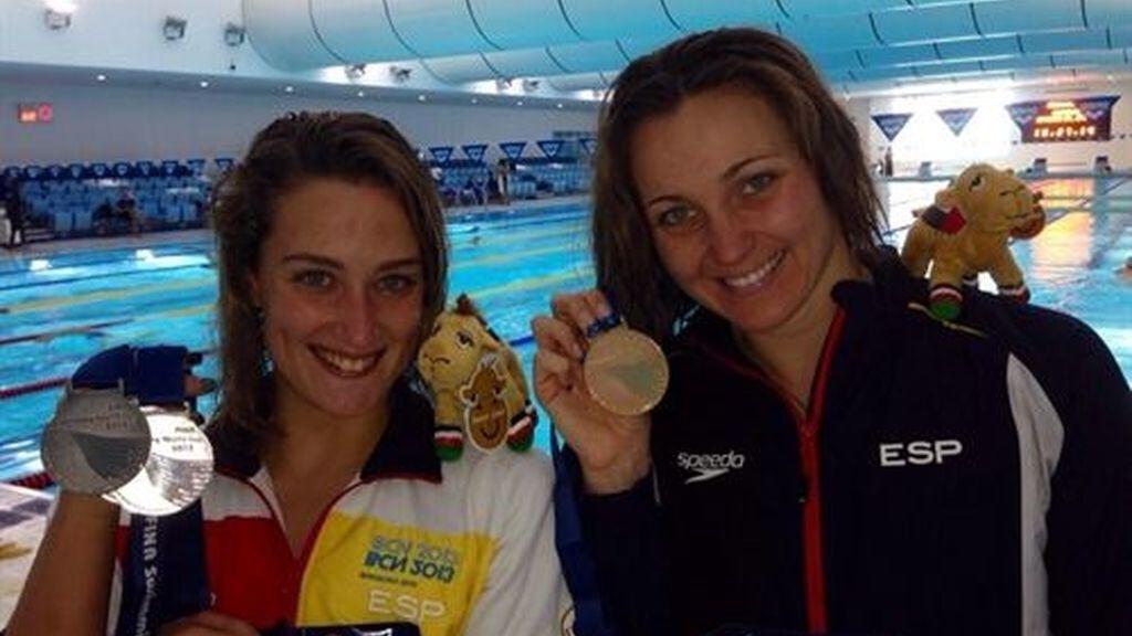 Mireia Belmonte y Melani Costa, nadadoras de la UCAM, entre las mejores del mundo