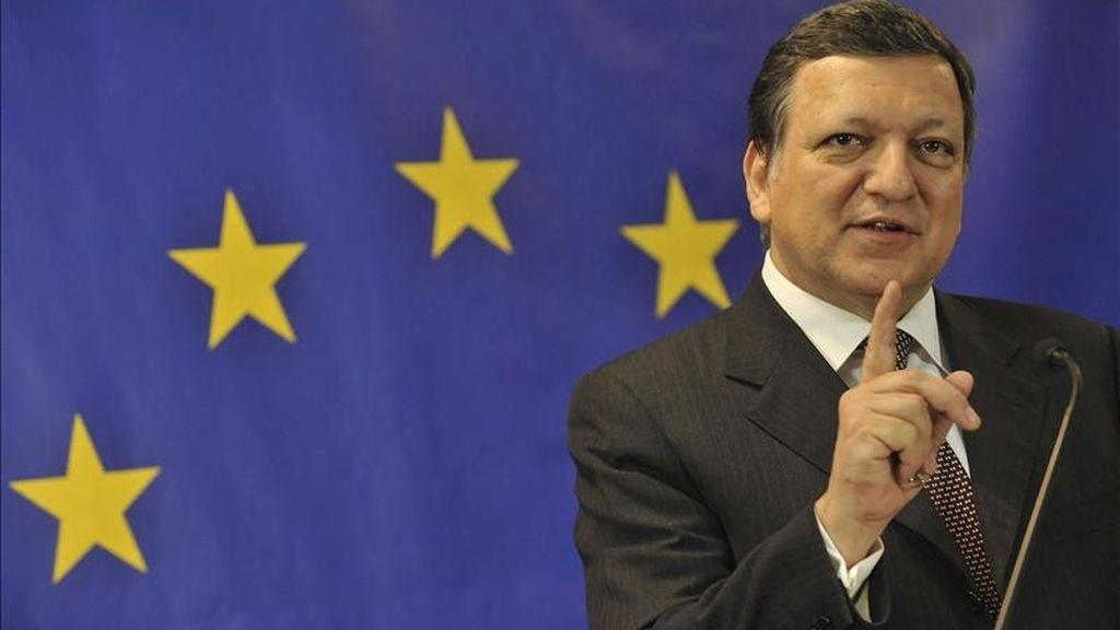 El presidente de la Comisión Europea José Manuel Durao Barroso. EFE/Archivo