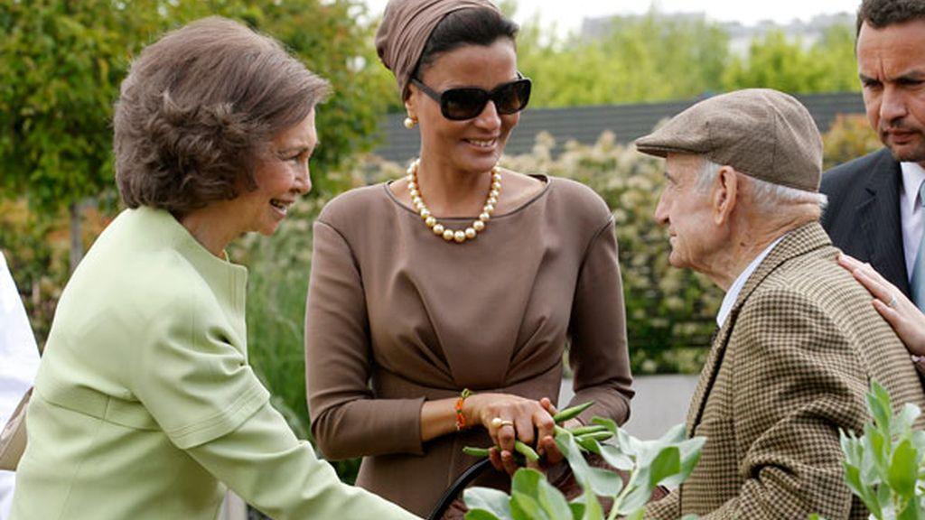 Con la Reina Sofía