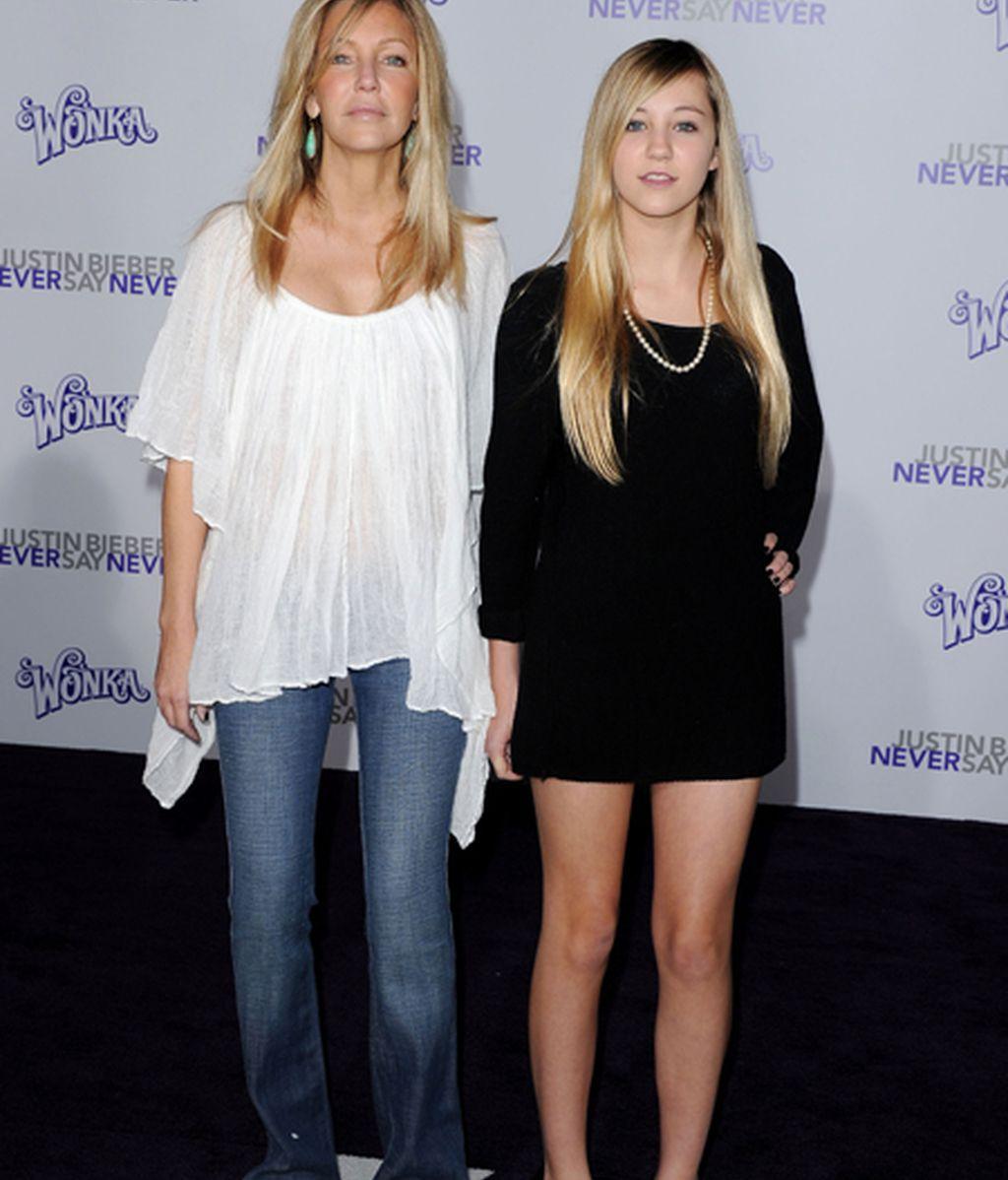 Heather Locklear y Ava Sambora