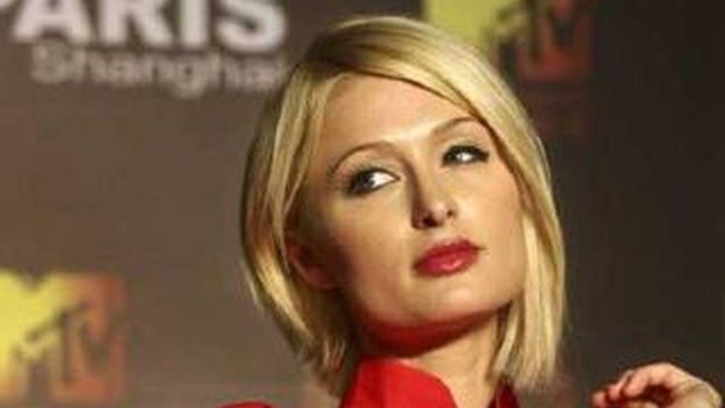 Paris Hilton en una imagen de archivo. Foto: AP