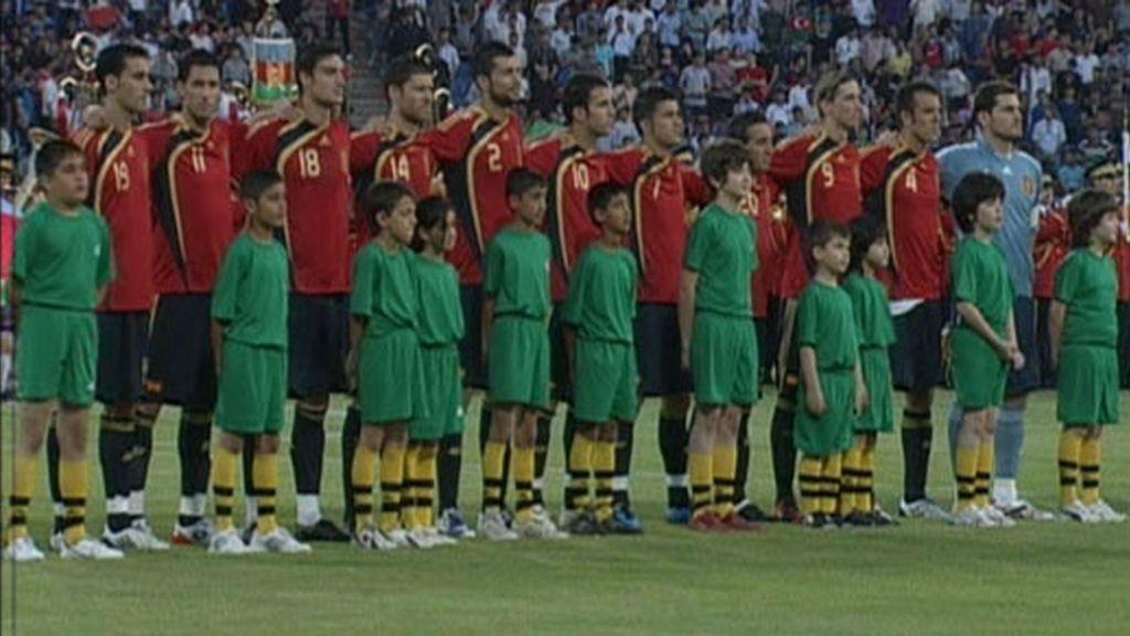 Imágenes del Azerbaiyán-España