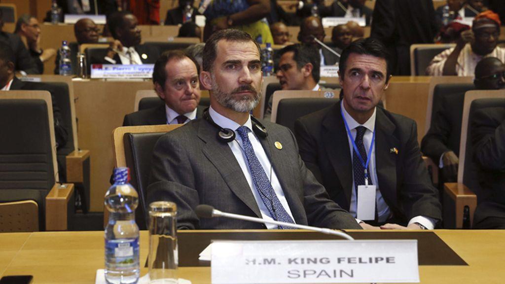 Felipe VI participa en la XXIV cumbre de la Unión Africana