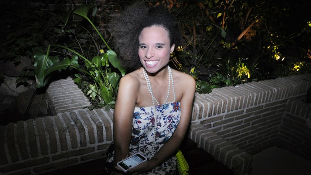 La periodista Leslie Salazar