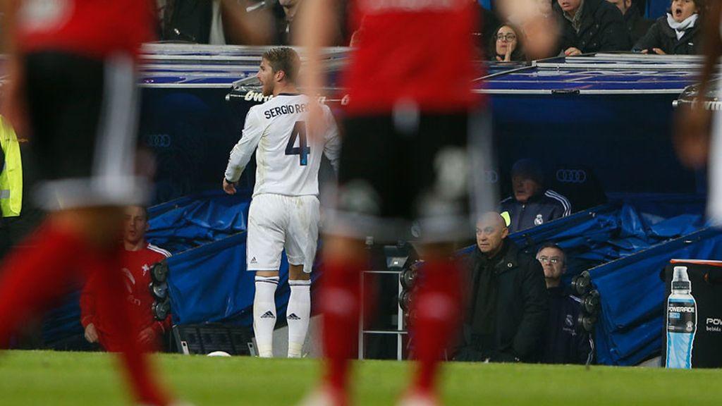 Ramos, expulsado