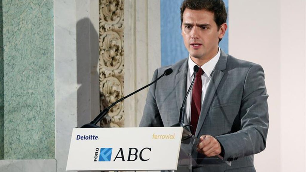 Albert Rivera interviene en el Foro ABC-Deliotte