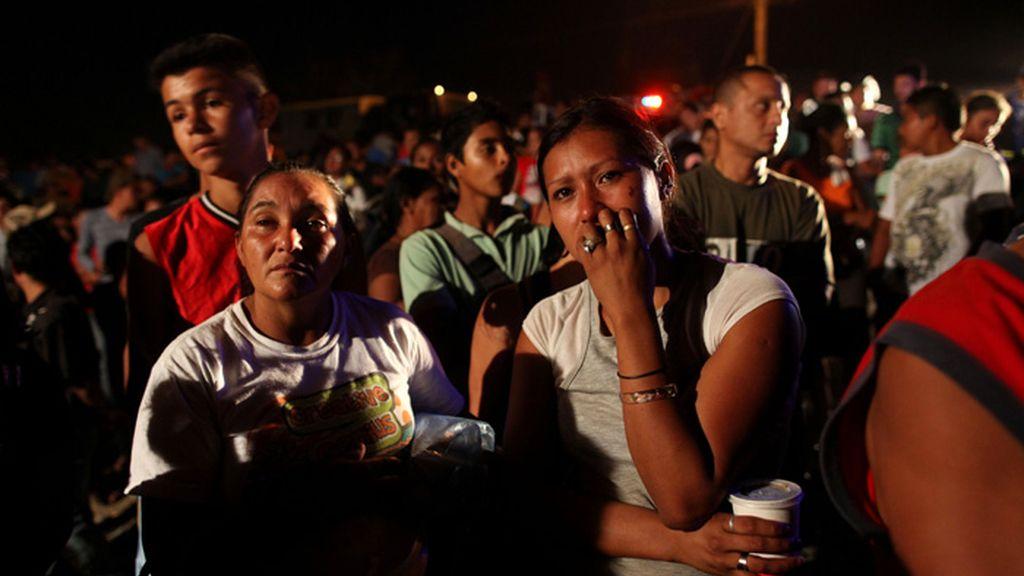 Honduras, escenas dantescas