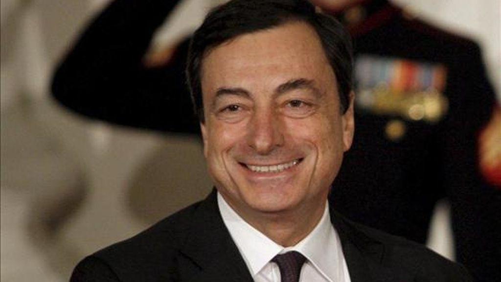 El director del recién creado Comité de Estabilidad Financiera, Mario Draghi, consideró que la economía mundial muestra señales de recuperación. EFE/Archivo