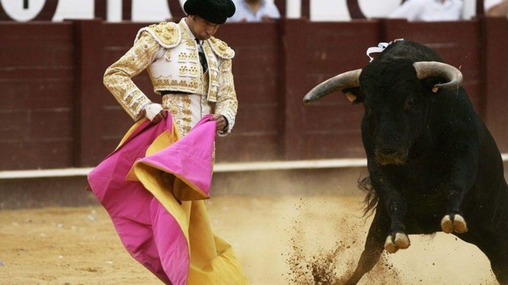 Cayetano Rivera, a golpe de 'flash'