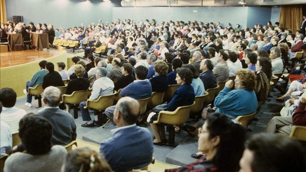 Un momento del llamado 'juicio de la colza' en 1989. EFE/Archivo