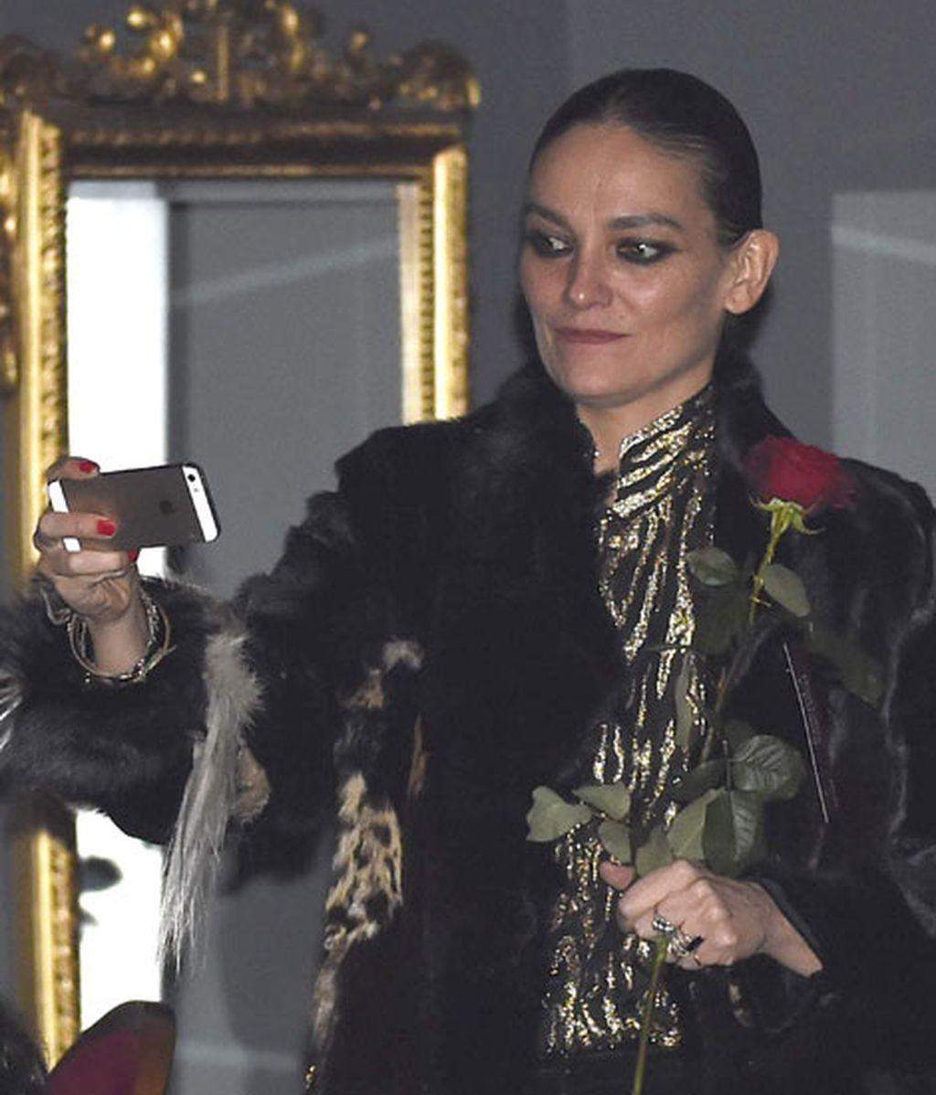 Laura Ponte tampoco se perdió el evento dedicado a la moda