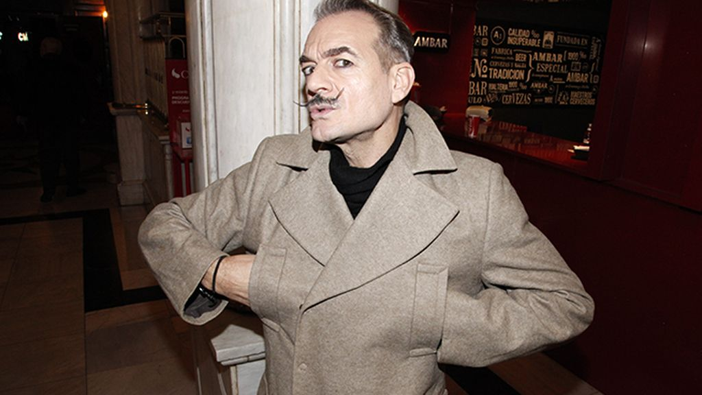 """El actor Antonio Albella, que estos días anda liado con dos obras de teatro: """"Diez Negritos"""" y """"Un espíritu burlón"""""""