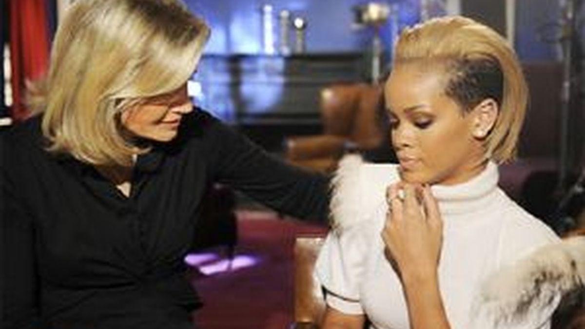Diane Sawyer ha entrevistado a Rihanna para su programa 'Good Morning America'. Foto: ABC