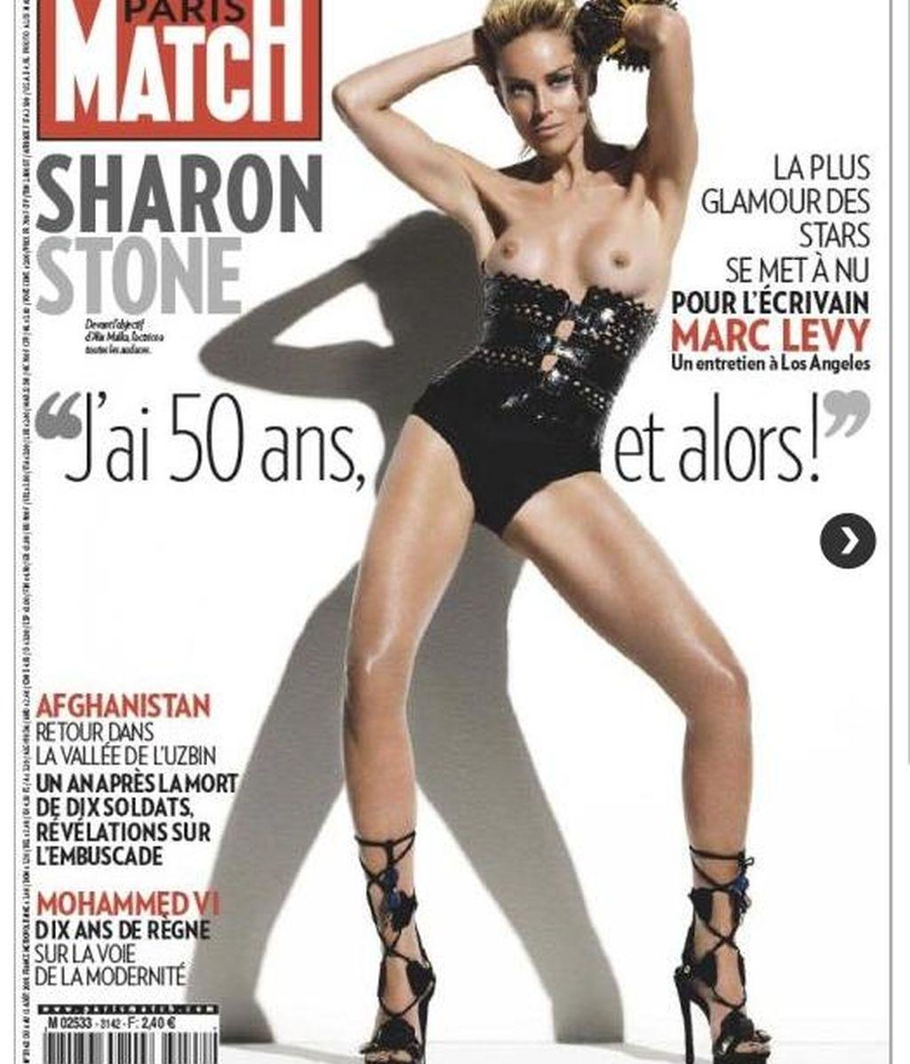 Sharon Stone, instinto a los 50