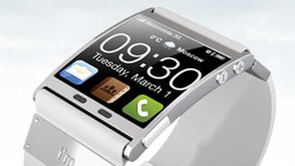i'm watch es un reloj de pulsera que se conecta al 'smartphone'. Foto: Imwatch.it