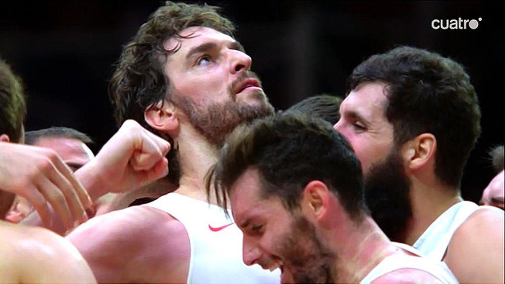 Así son los rostros de la victoria