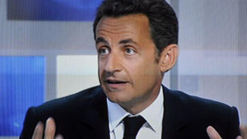 Sarkozy promete cambios en la UE. Video: Informativos Telecinco