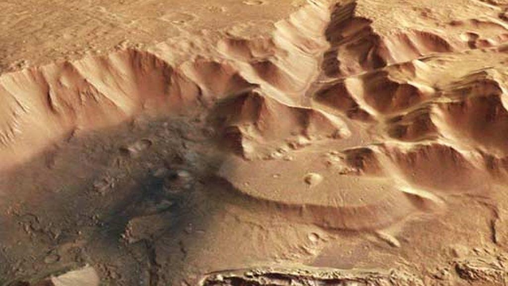 El terreno del planeta rojo es como el de cualquier jardín terrestre. Vídeo: ATLAS.