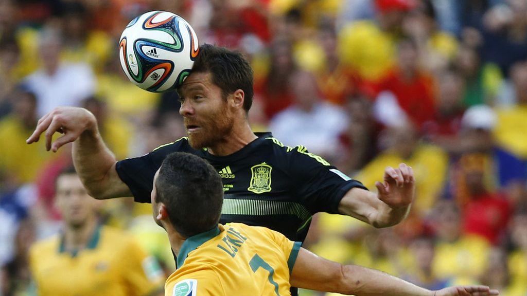 Xabi Alonso disputó su último partido con la camiseta de la selección