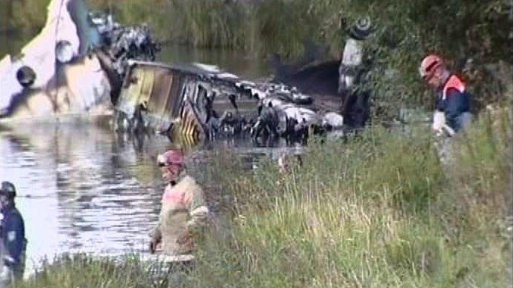 Un combustible de mala calidad podría ser una de las causas del accidente del avión Yak-42.