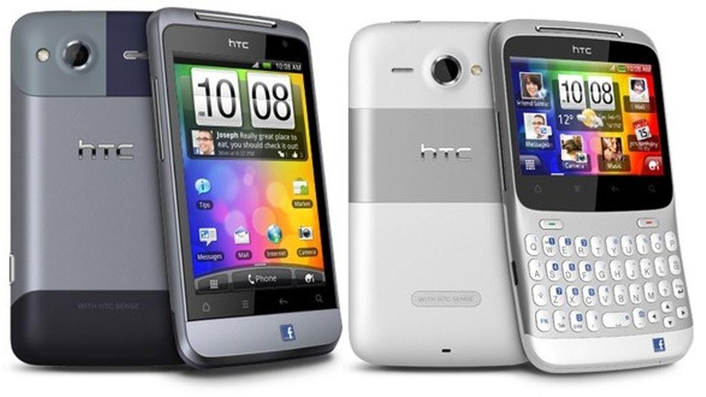 Los dispositivos HTC ChaCha, HTC Salsa, HTC Wildfire S, el HTC Explorer, con ROM de 512 MB o menos, no se actualizará a Android 4.0.